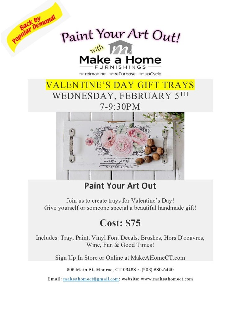 Image of Valentine's Day Gift Trays - Wednesday, February 5th 7-9:30PM