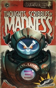 Image of Thoughts, Scribbles + Madness Volume 3 by Creaturebox
