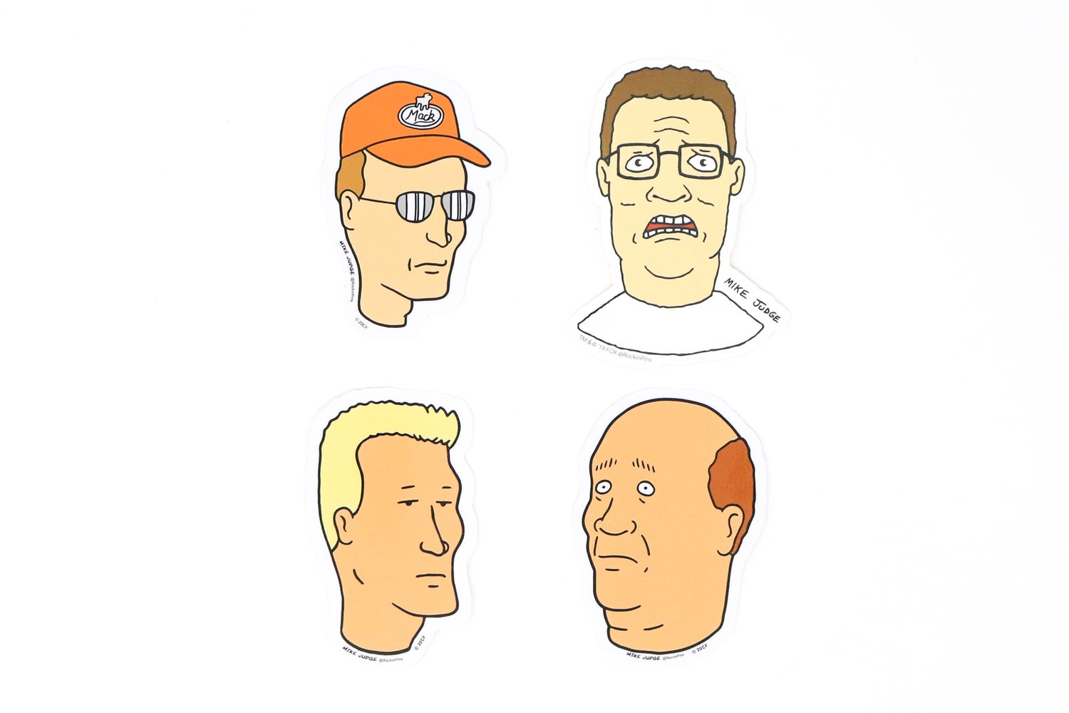 Image of King of the Hill Decal Stickers