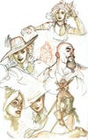 Terry Dodson Convention Sketchbooks