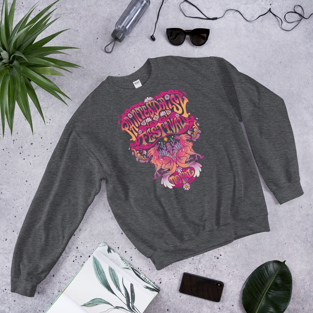 Image of Painted Daisy Festival Sweatshirt