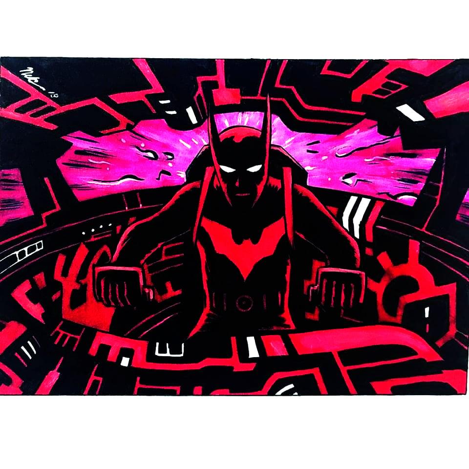 Image of Batman Beyond art