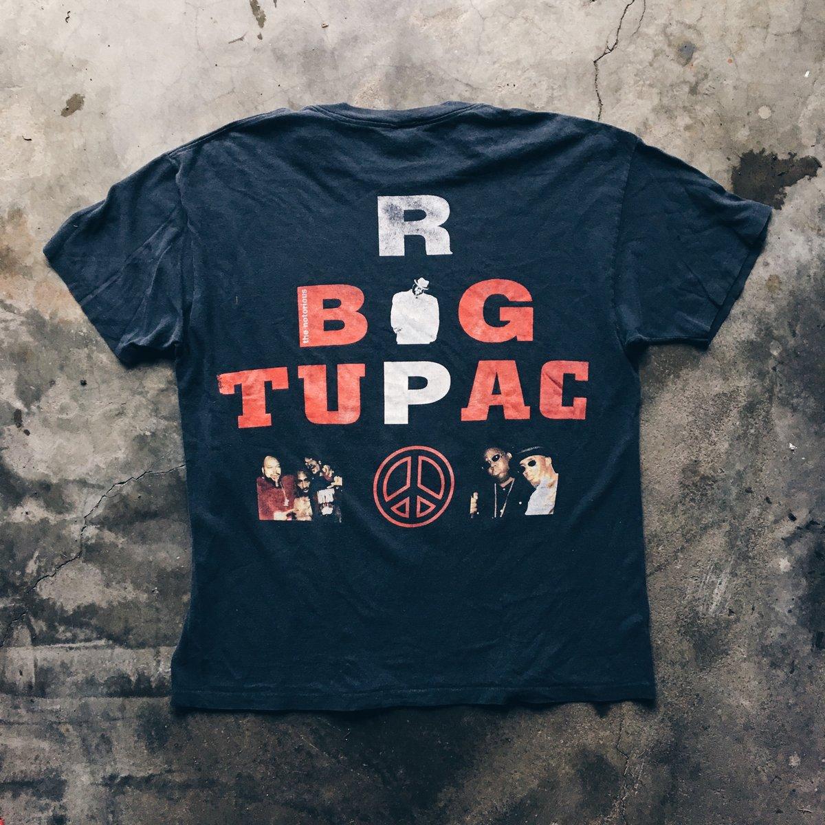 Image of Original 1997 Bootleg Tupac/Bigging Memorial Rap Tee.