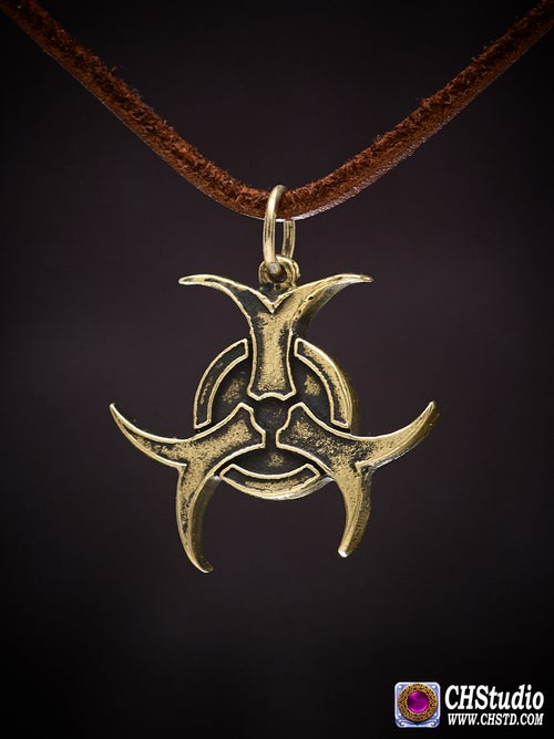 Image of Pendant : BIOHAZARD : Necklace / keychain