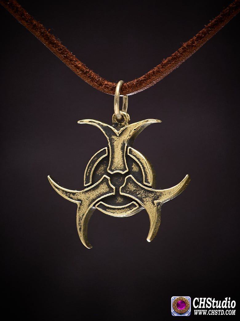 Image of Pendant : BIOHAZARD : Necklace / keychain