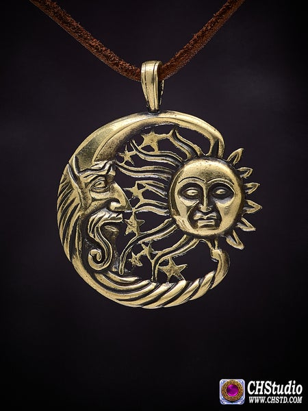 Image of Moon and Sun