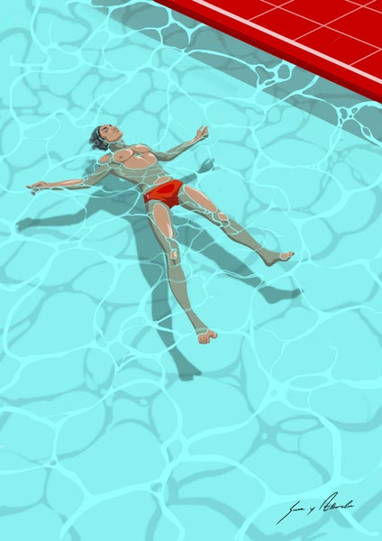 Image of THE RULES OF POOL SIDE - TIME OUT