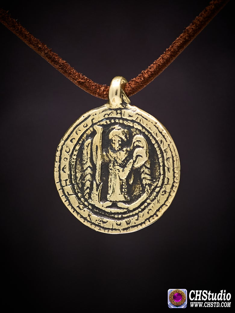 Image of St Nicon's Ancient Serpent Amulet