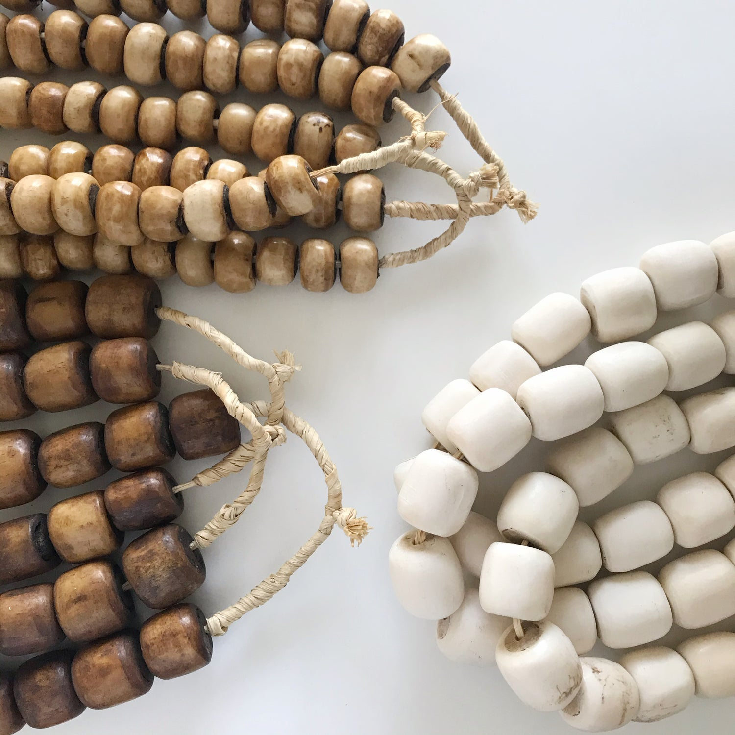 Image of Beads for your home - Tan
