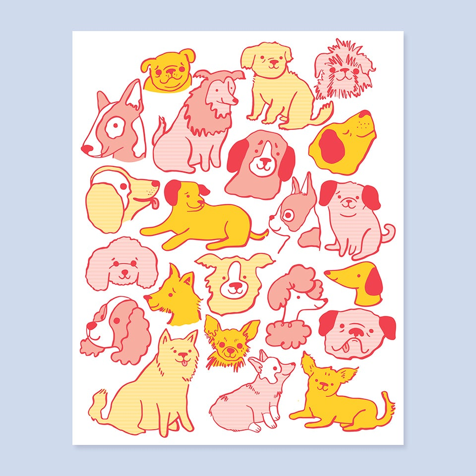 Image of Dogs Print