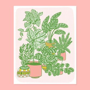 Image of Plants Print