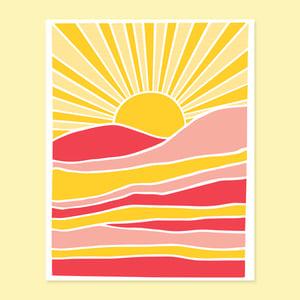 Image of Beautiful Day Print