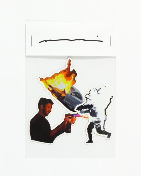 Image of Flamethrower Sticker Pack