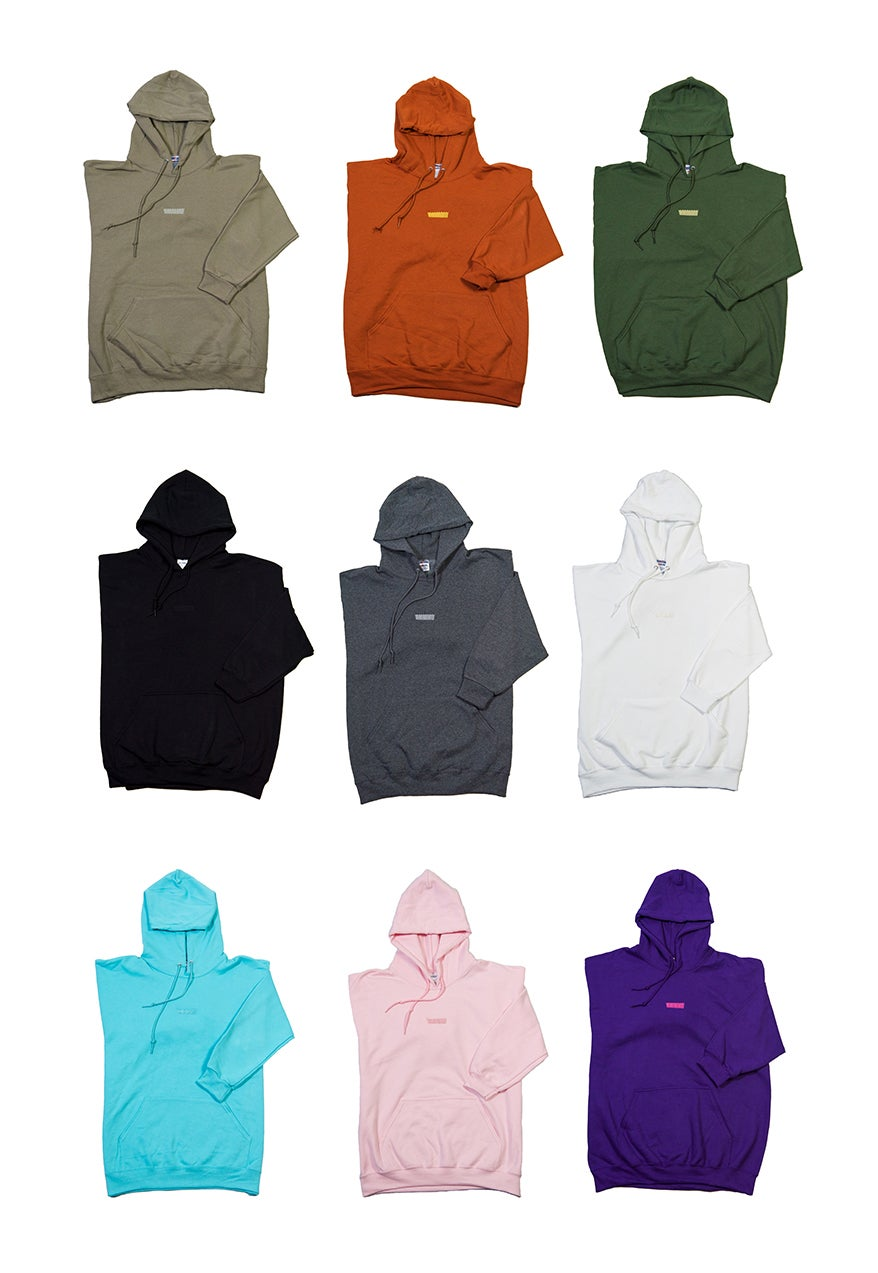 Image of SESH Embroidered Tonal Hoodies