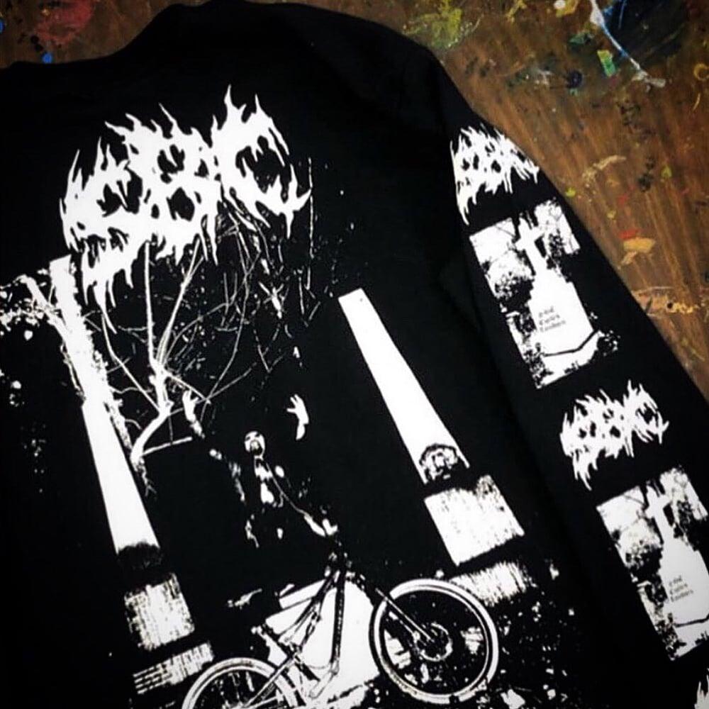 Image of True Metal Tshirt - White Print