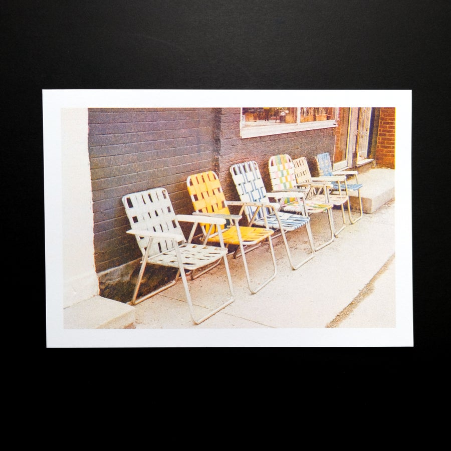 Image of Chairs by Kelty Lewis