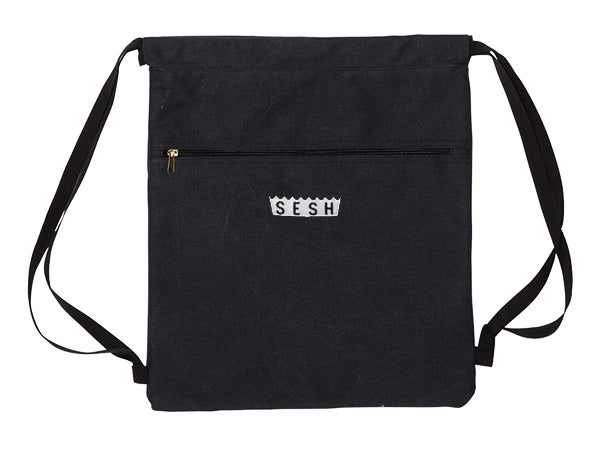 Image of Sesh Embroidered Book Bag