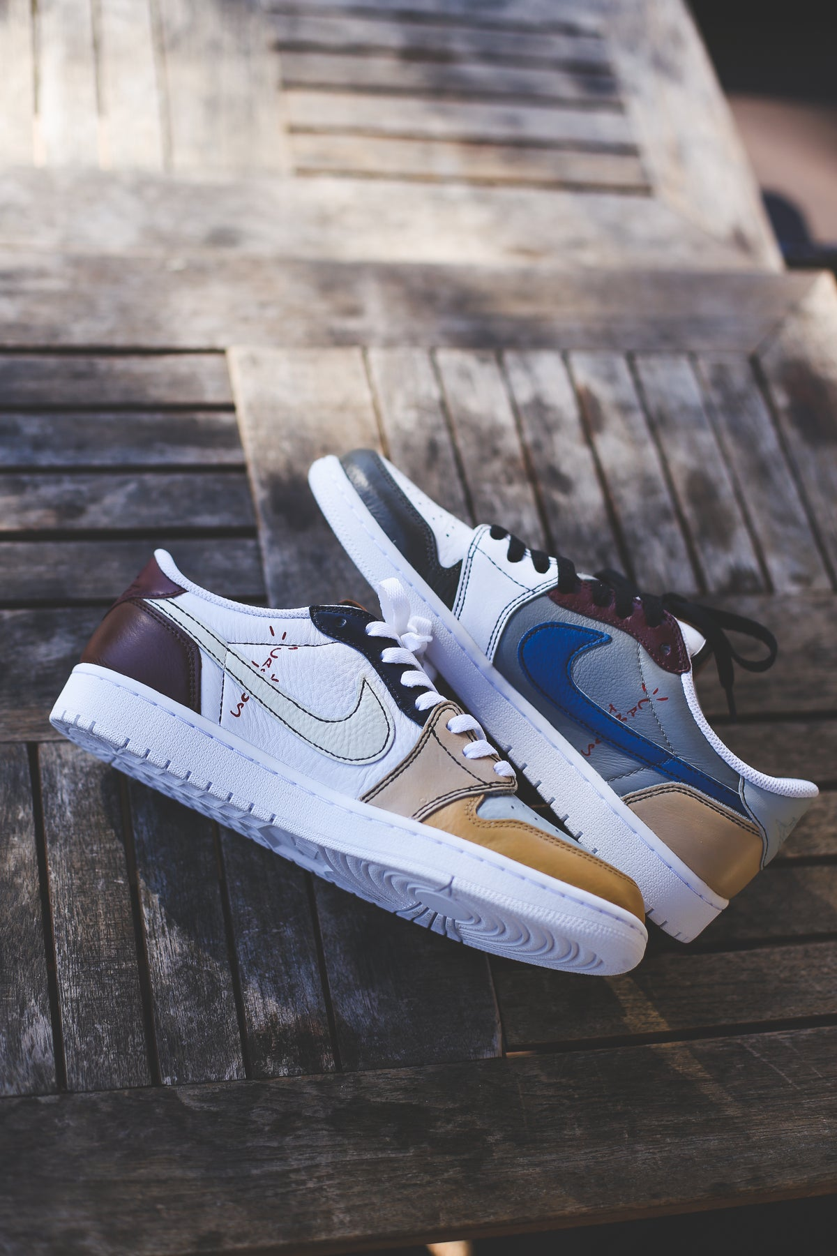 "Image of TS retro 1 low ""patchwork"""