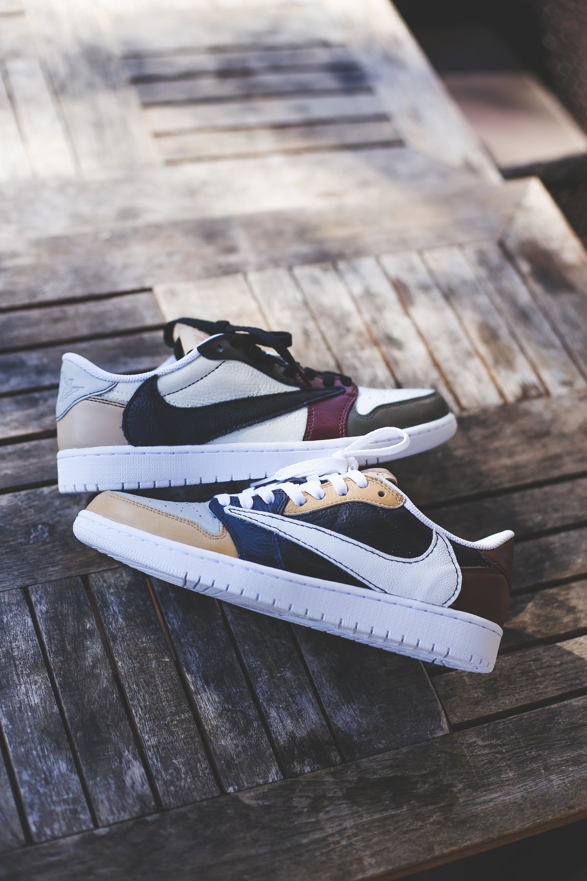 """Image of TS retro 1 low """"patchwork"""""""