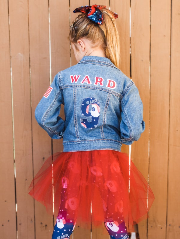 Image of Custom Jean Jacket