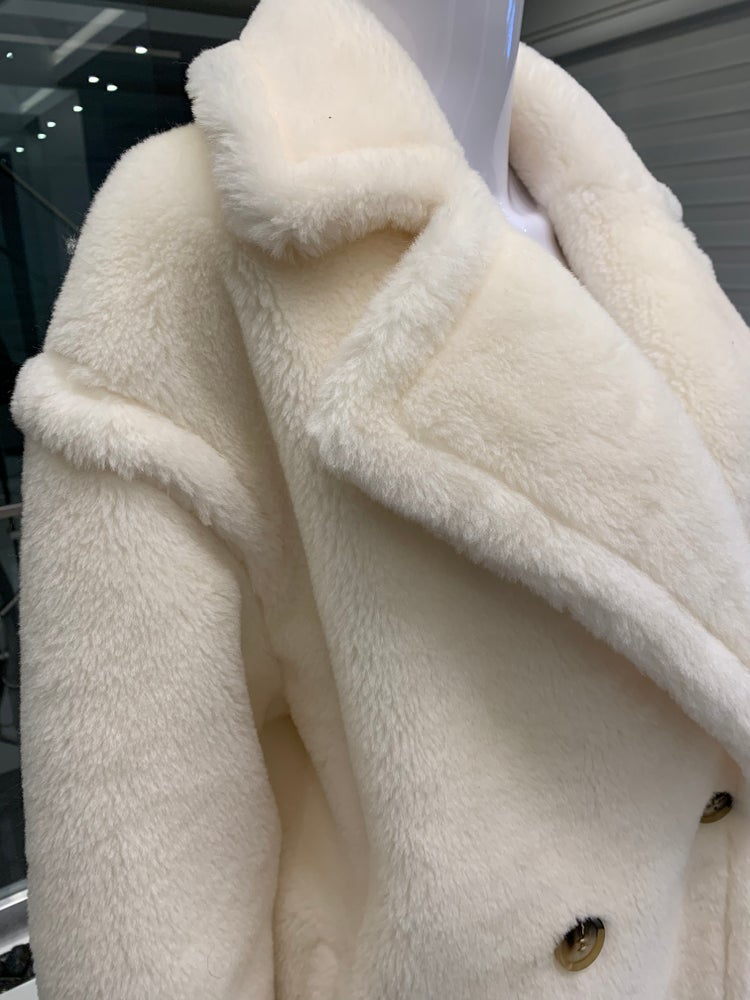 Image of Sheep Wool Teddy Coat