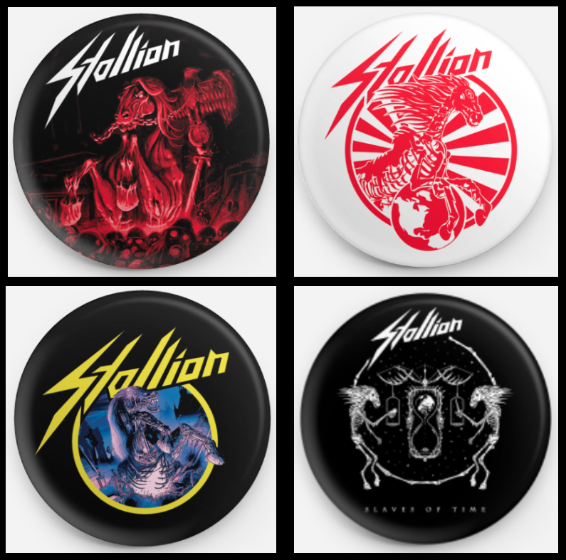 Image of Buttons - Albumcovers (38mm)