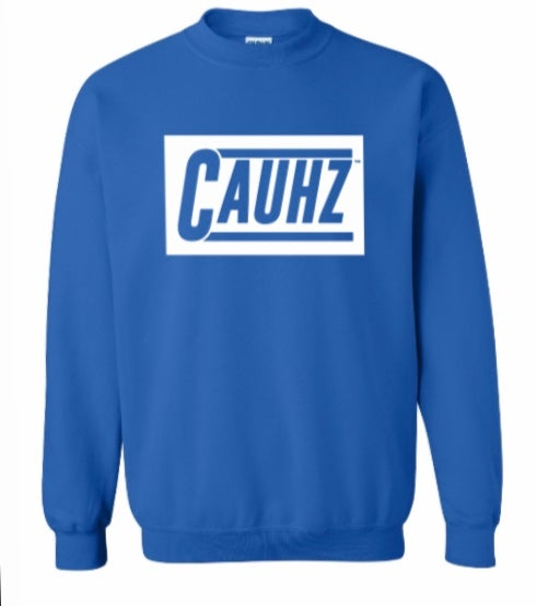 Image of Cauhz™️ Royal Blue Crewneck Sweatshirt
