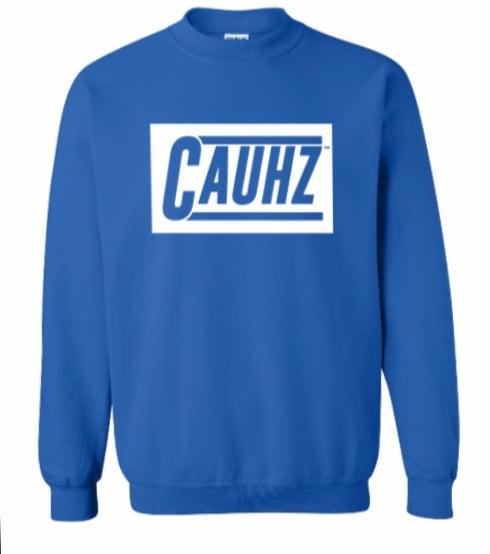 Cauhz™️ Royal Blue Crewneck Sweatshirt