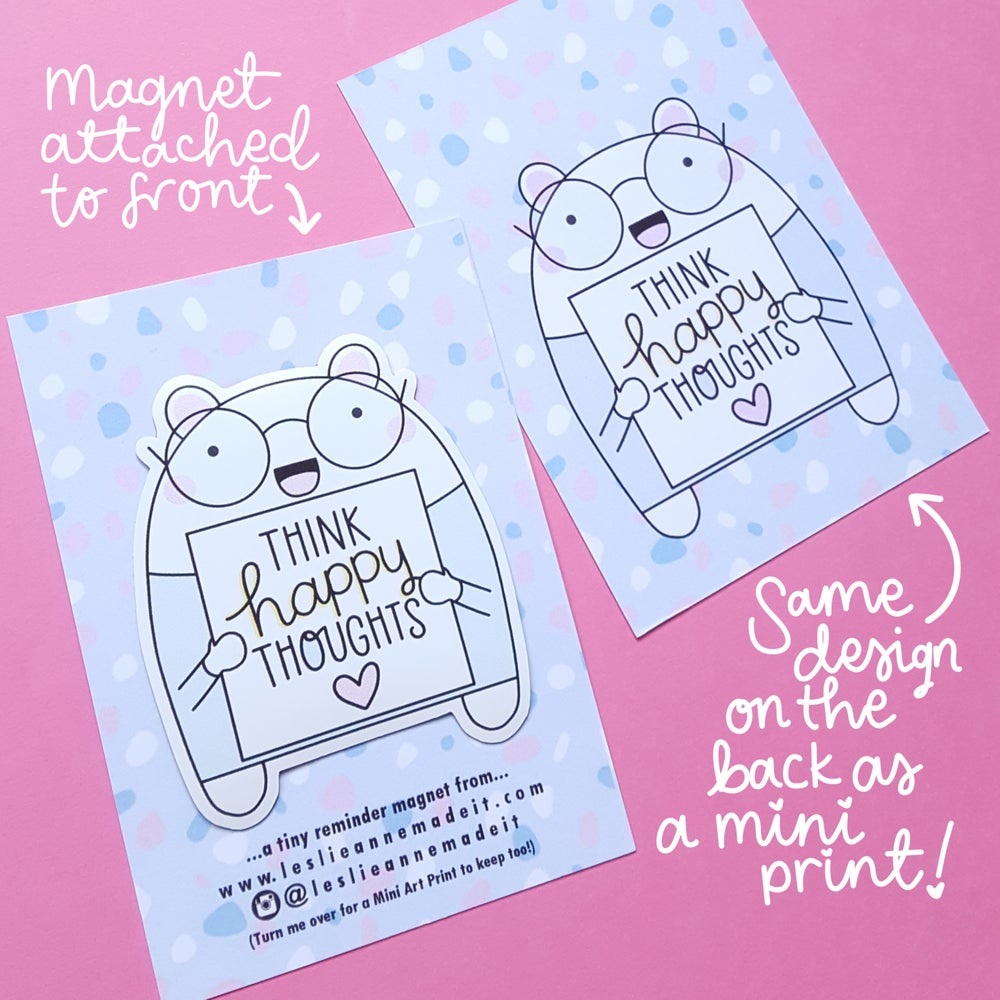 Image of Tiny Reminder Magnets (& FREE mini prints!)