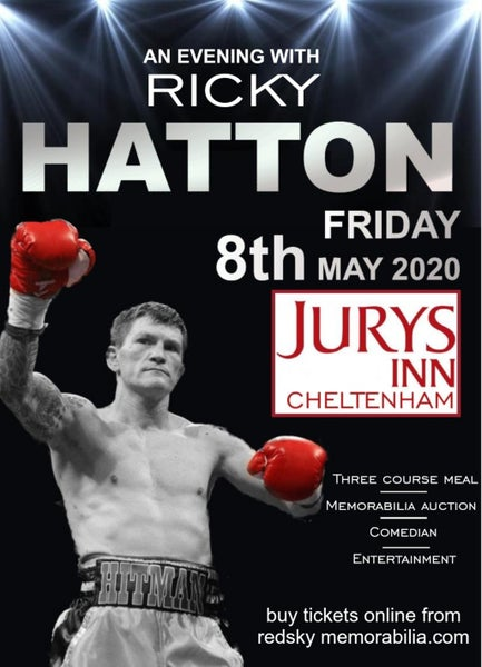 Image of Evening with Ricky Hatton