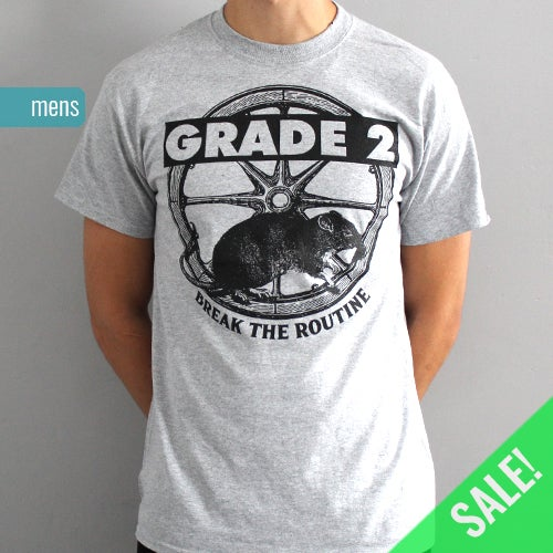 Image of Break The Routine Grey | T-Shirt