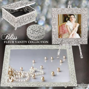 Image of Bliss Fleur Silver Vanity Collection