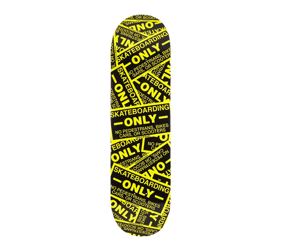 Image of Skateboarding Only Deck
