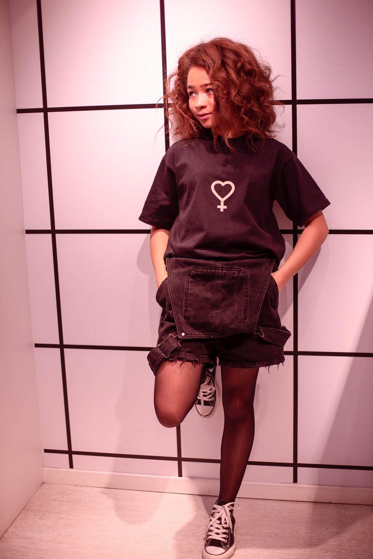 Image of Venus T-Shirt Black
