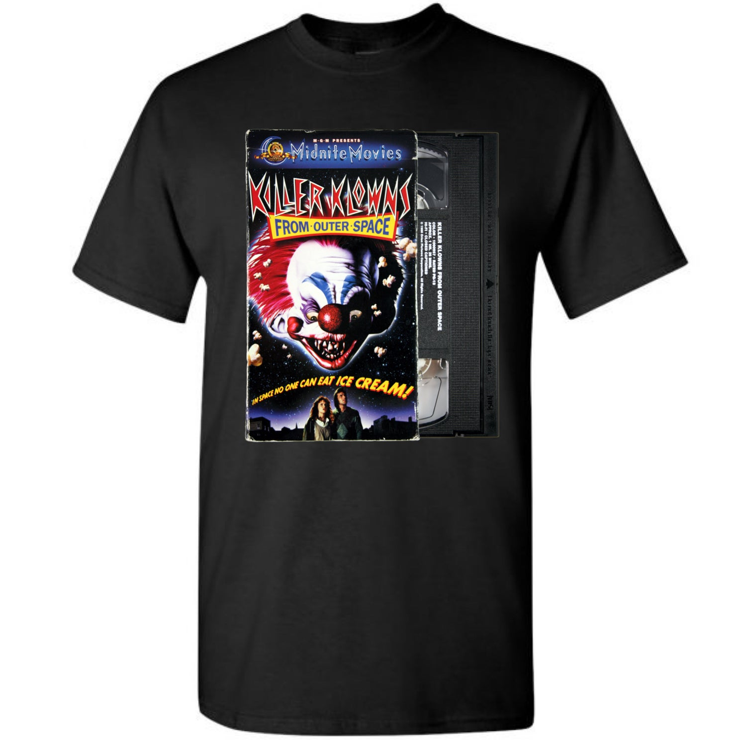 Image of VHS Series Killer Klowns From Outer Space Tee
