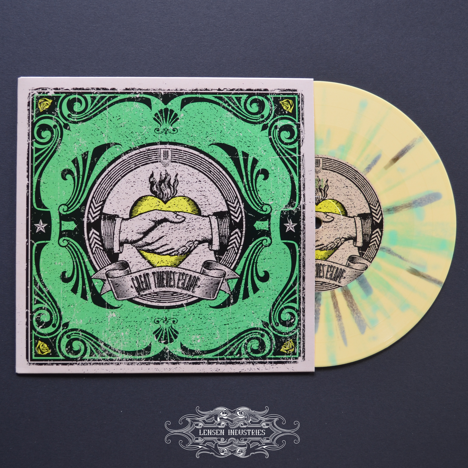 """Image of GREAT THIEVES ESCAPE III VINYL 7"""""""