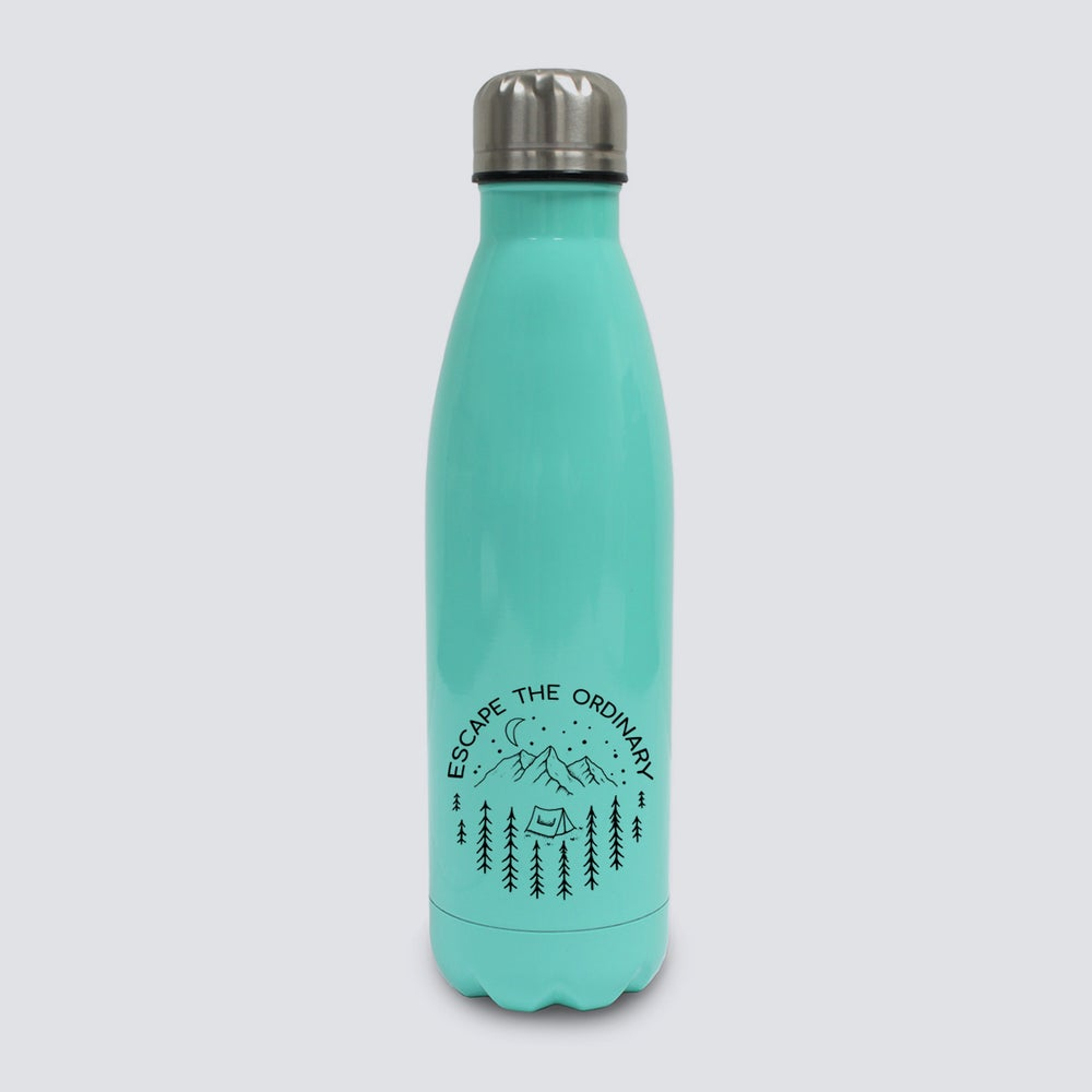 Image of Escape The Ordinary Stainless Steel Water Bottle (500ml)