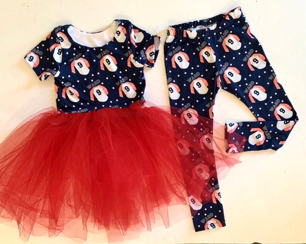 Image of Custom Tutu Dress and Matching Leggings