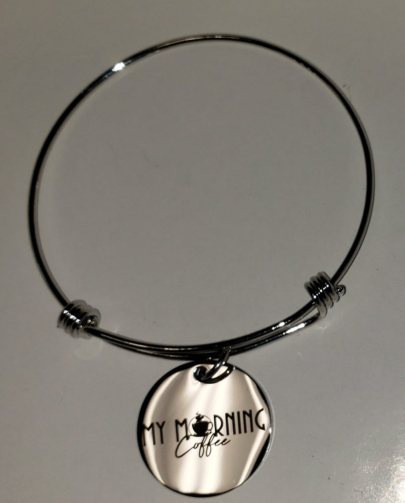 Image of My Morning Coffee Charm Bangle