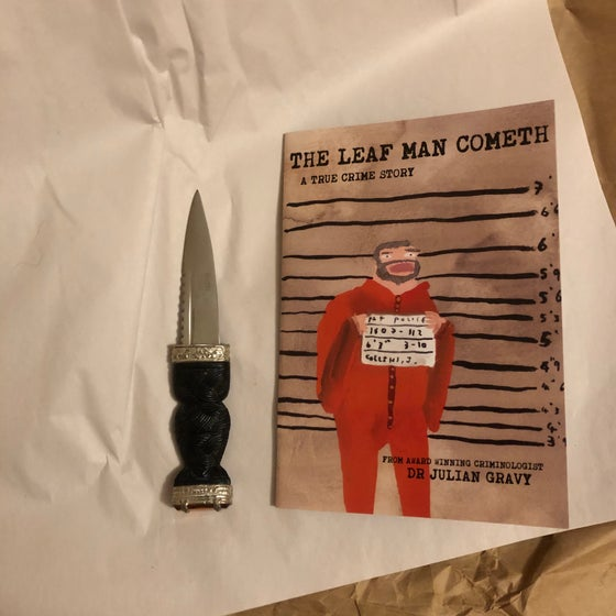 Image of The Leaf man cometh (comic)