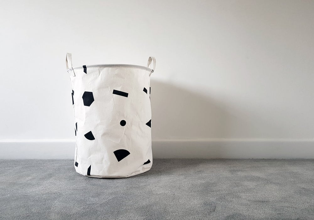 Image of Shapes laundry basket