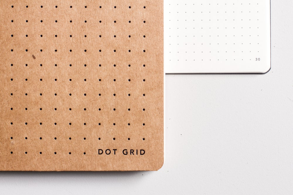 Image of Dot grid notepad from MiGoals