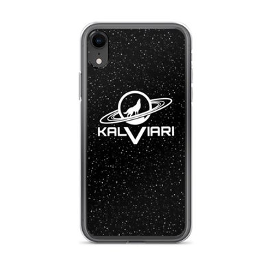 Image of KALVIARI GALACTIC WOLF IPHONE CASE