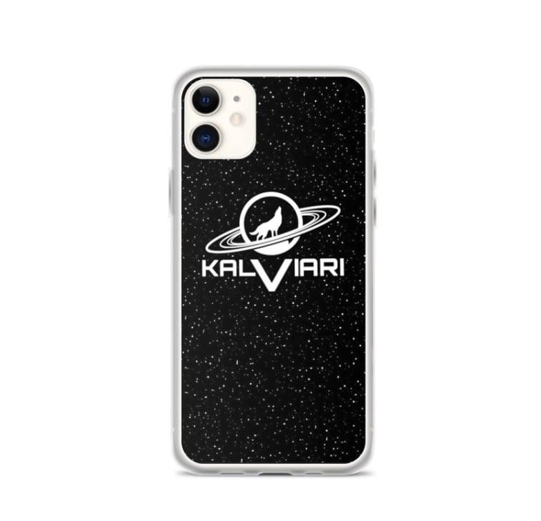 Image of KALVIARI GALACTIC WOLF IPHONE CASE