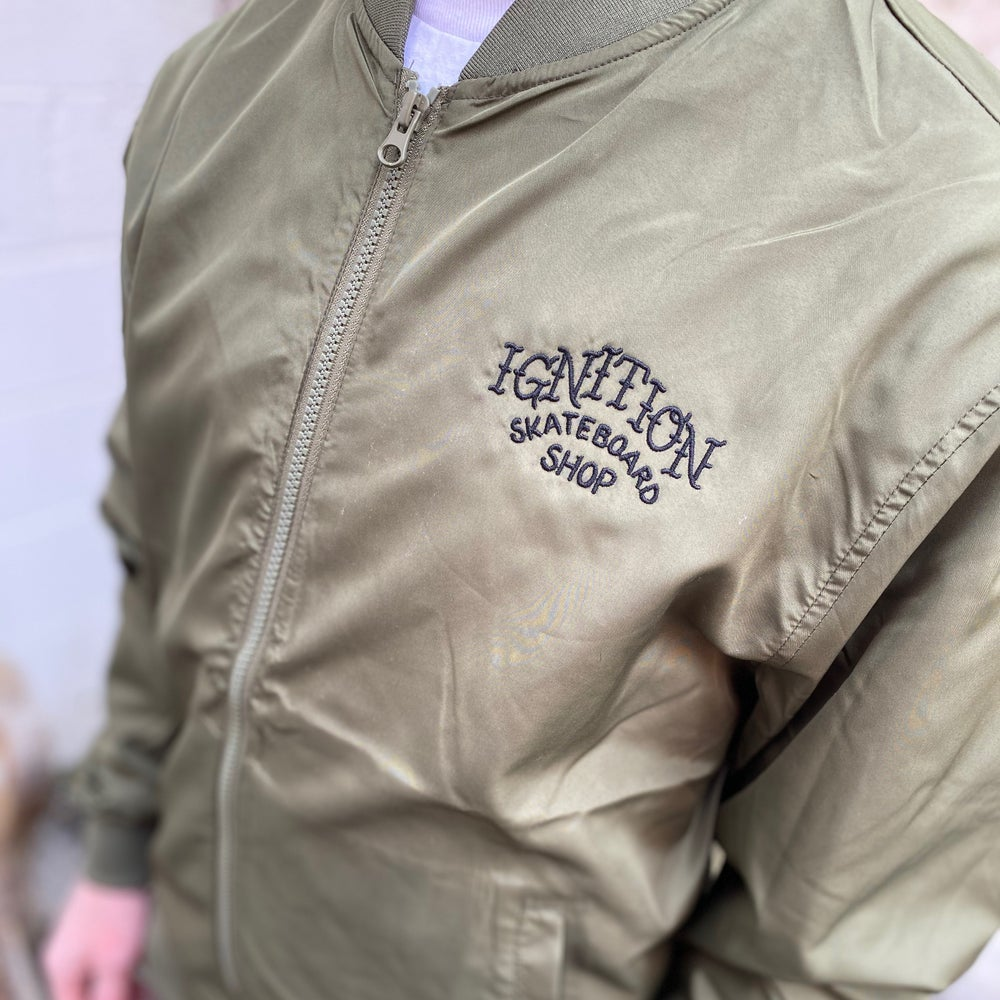 Image of TRADITIONAL BOMBER JACKET