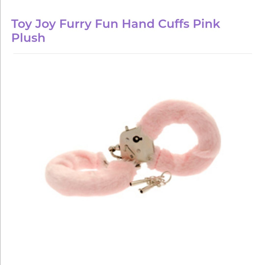 Image of Toy Joy Furry Handcuffs