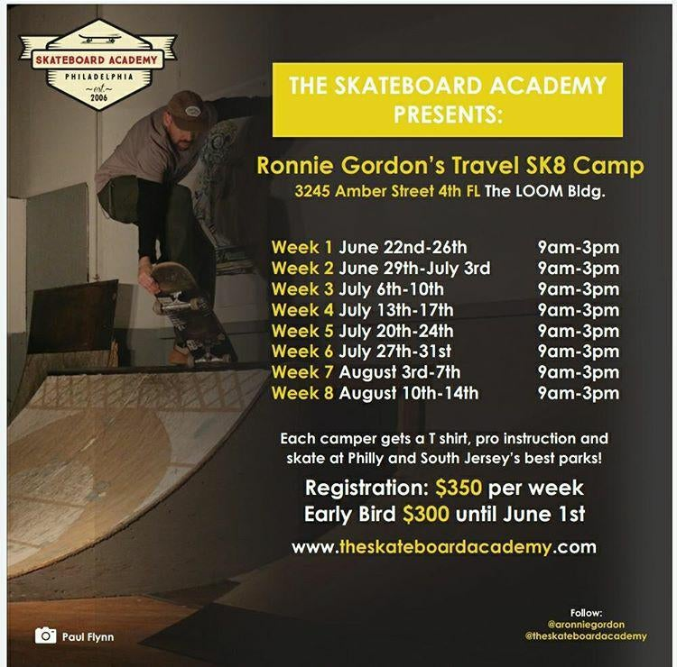 Image of Ronnie G's Skate Camp