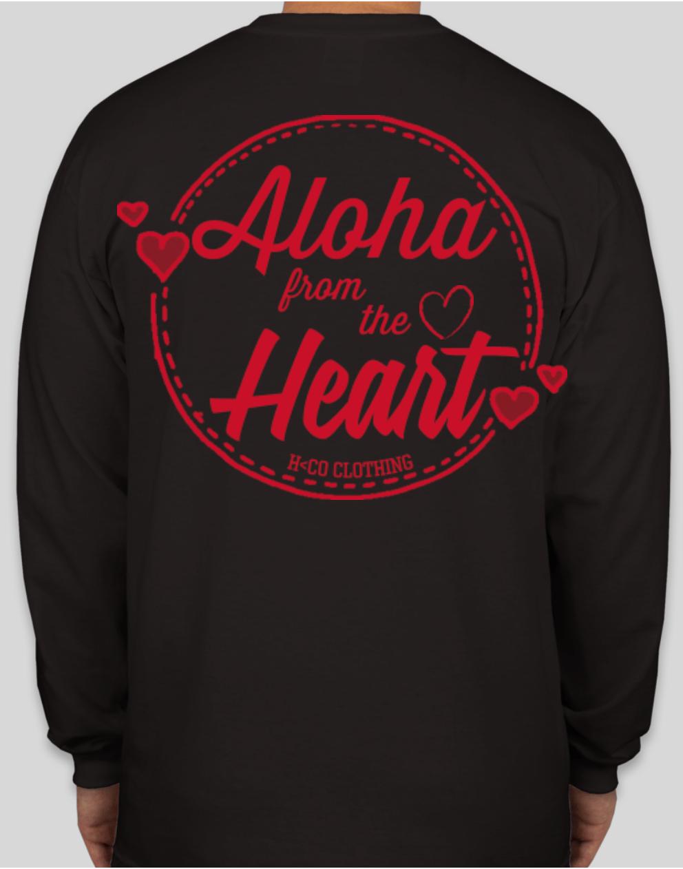 Aloha from the Heart Long Sleeve (Adult)