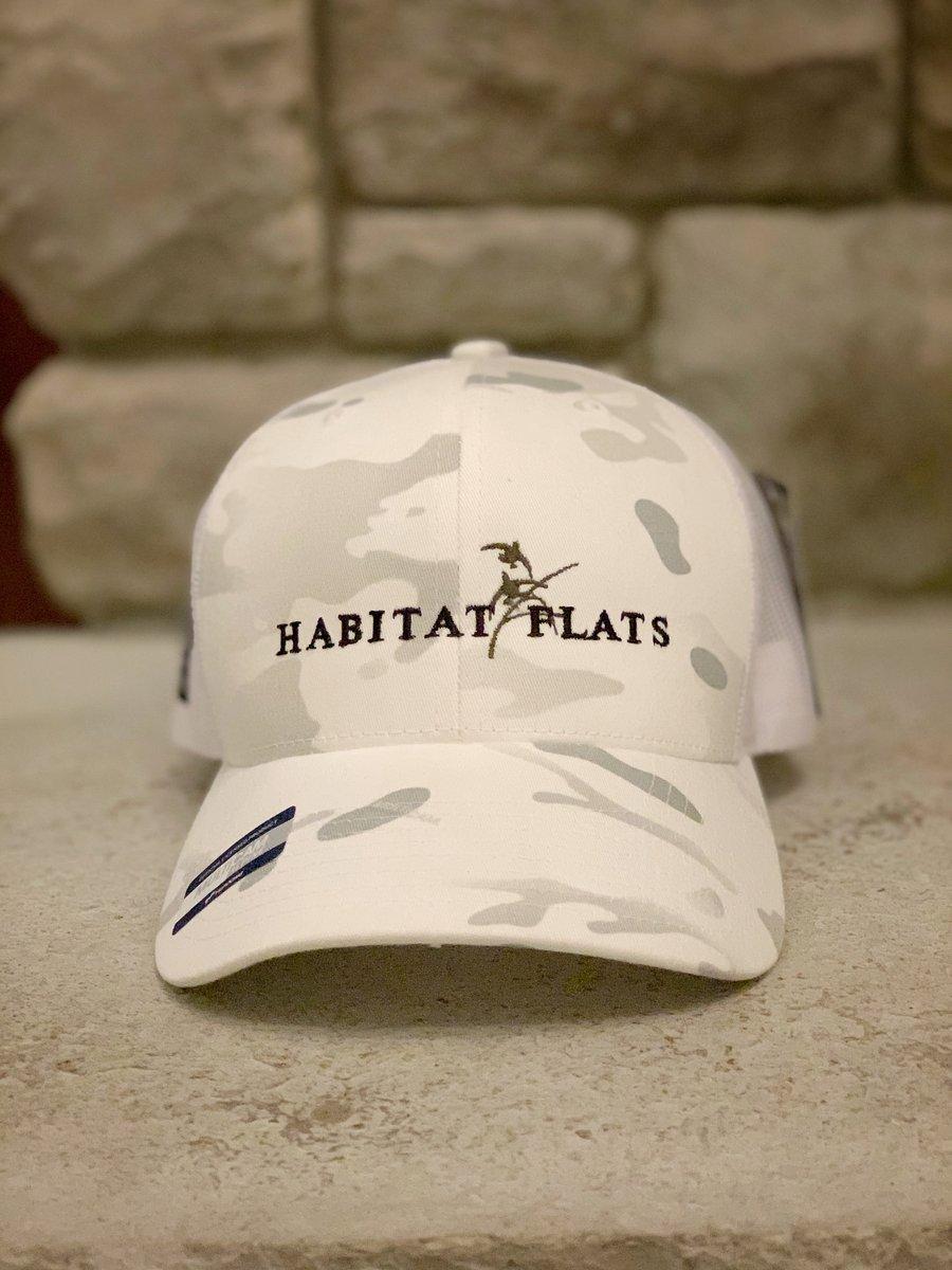 Image of Habitat Flats 2020 Snow Camo Hat