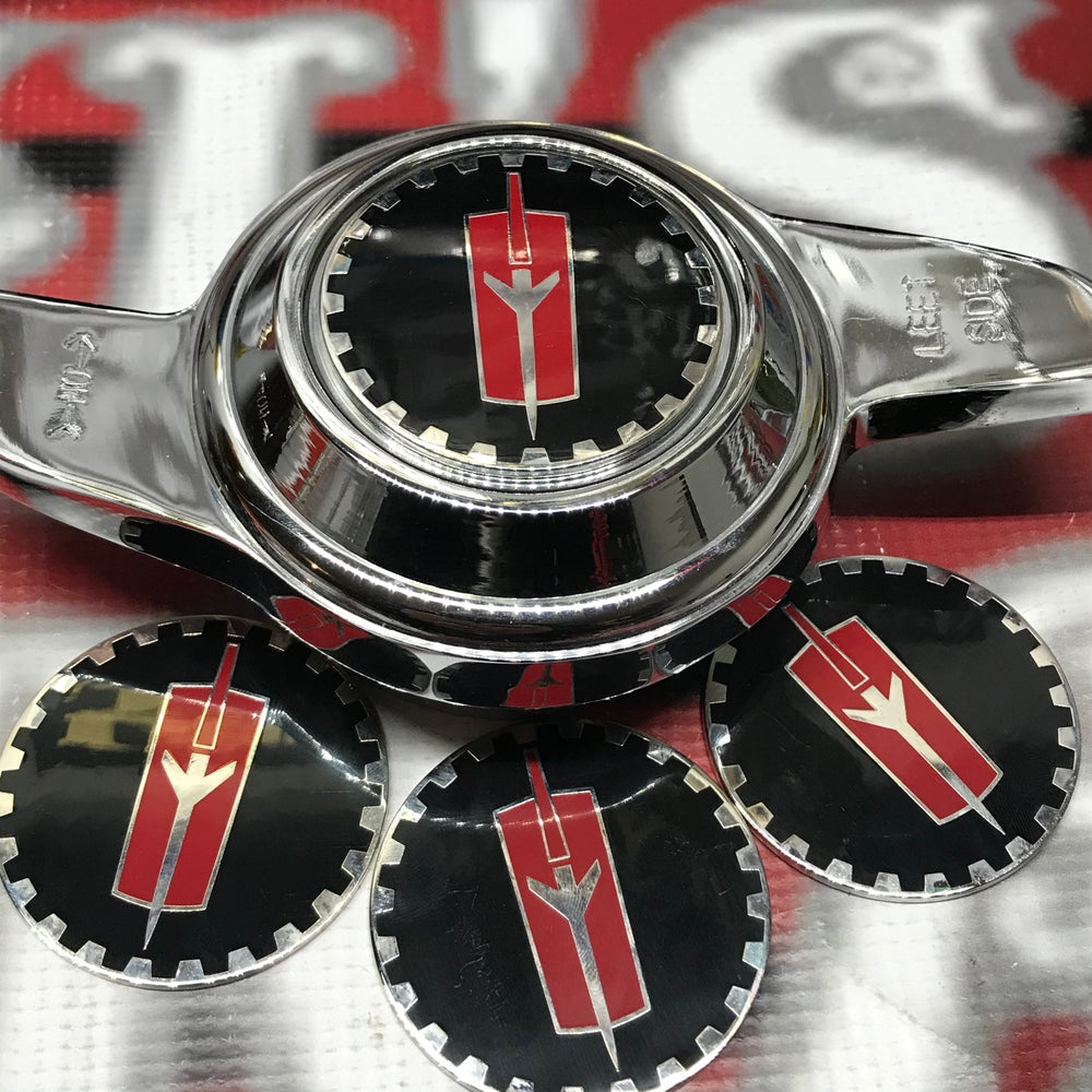 Image of Cutlass chrome chip set (4)
